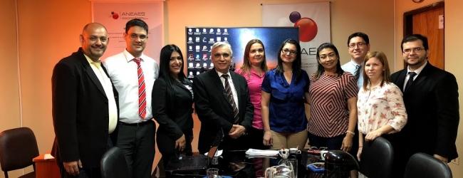 REUNIÓN SOBRE CULTURA INSTITUCIONAL DEL CONTROL INTERNO PARA EL STAFF DE LA ANEAES