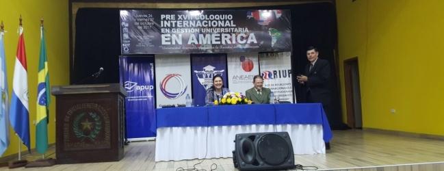 PRESENCIA DE LA ANEAES DURANTE EL PRE VII COLOQUIO INTERNACIONAL EN GESTIÓN UNIVERSITARIA EN AMÉRICA