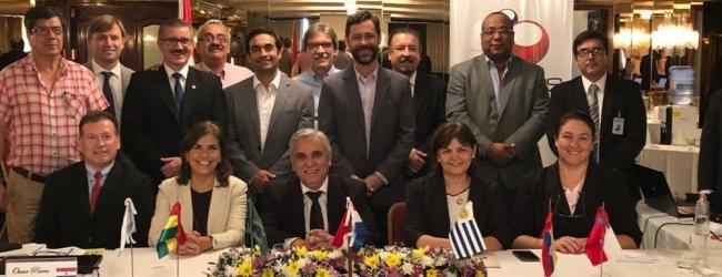 REALIZACIÓN DE LA REUNIÓN DE LA RED DE AGENCIAS NACIONALES DE ACREDITACIÓN (RANA) EN ASUNCIÓN, PARAGUAY